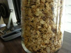 recipe: stovetop granola
