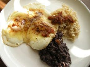 recipe: steam-fried eggs