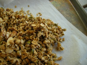 recipe: chipotle-honey granola