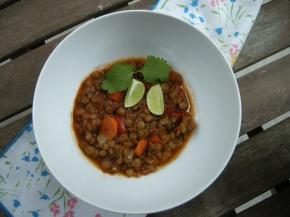 vegetarian ancho lentilstew