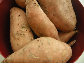 mountain o' sweet potatoes