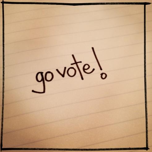 go vote! | aneelee.wordpress.com