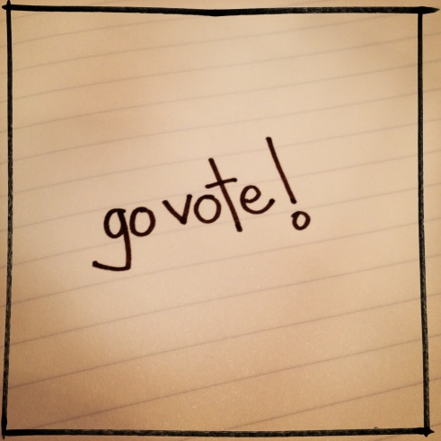 go vote! | aneelee.wordpress.com