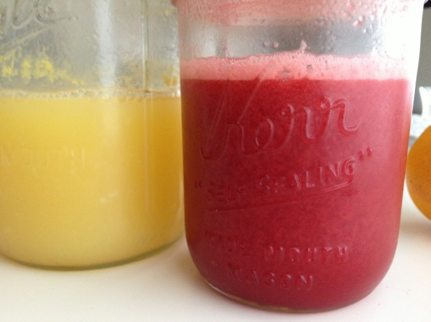 week one of homemade juice | aneelee.wordpress.com