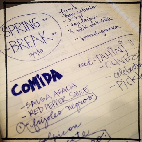 a week of ingredients - march 11, 2013 | aneelee.wordpress.com
