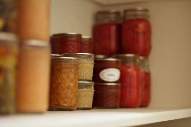 homemade pantry - january update | aneelee.wordpress.com
