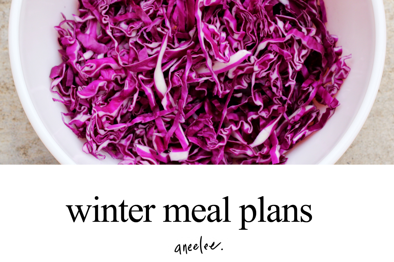 winter meal plans