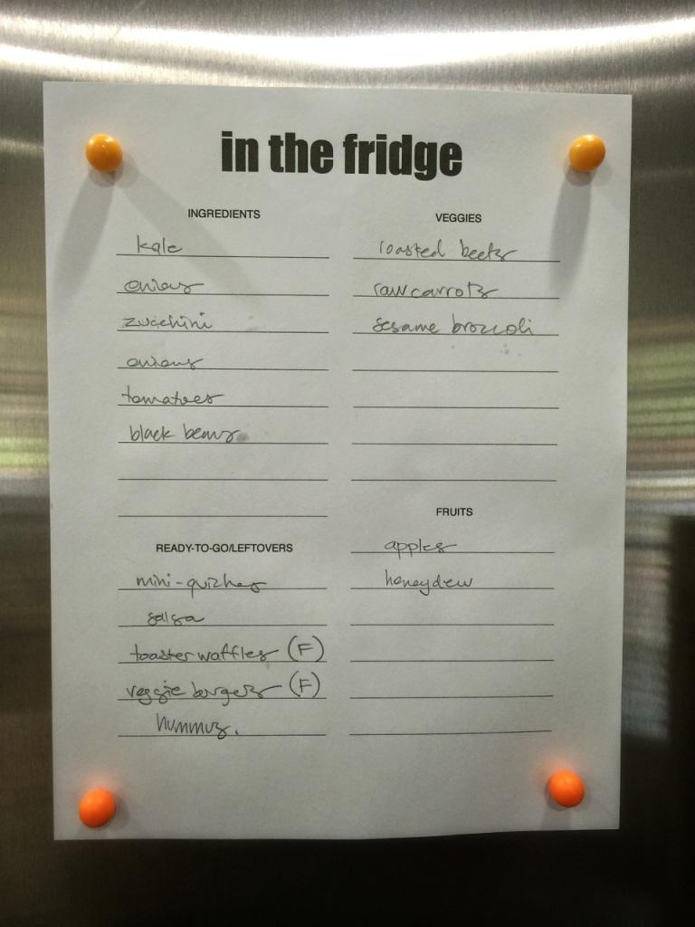 in the fridge | aneelee.wordpress.com
