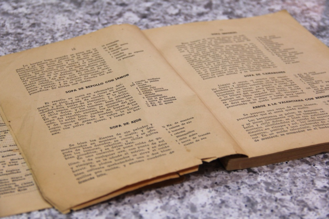 my mother's only cookbook | aneelee.com