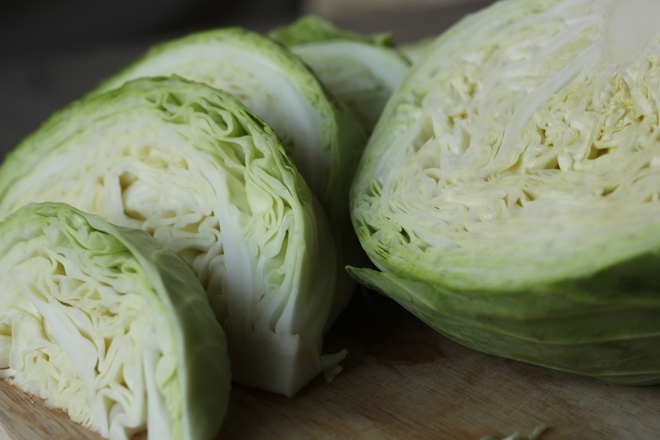 sliced cabbage | aneelee.com