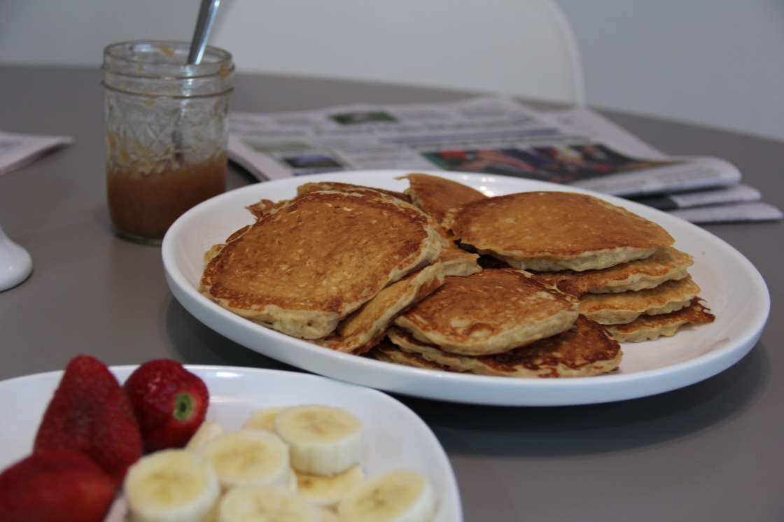 midweek pancake morning | aneelee.com