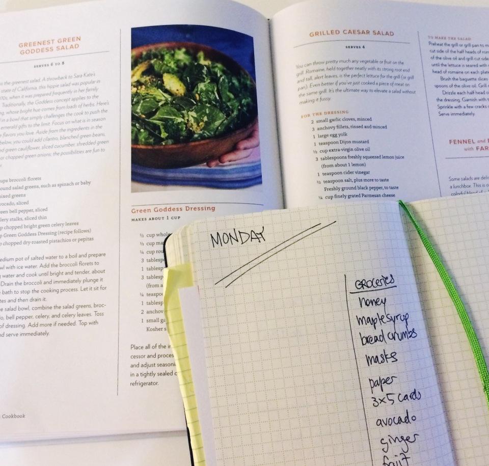 veggie meal plan 10/12/15 | aneelee.com
