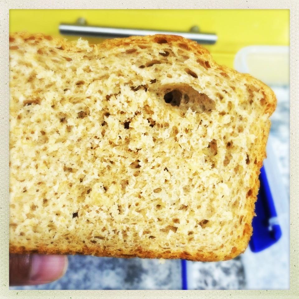 honey-oatmeal bread | aneelee.com